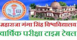 MGSU Bikaner Time Table 2021
