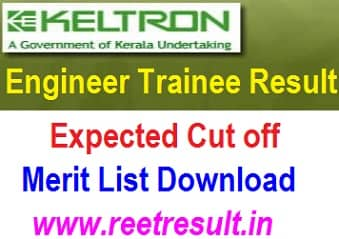 KELTRON Engineer Trainee Result 2021