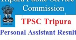 TPSC PA Result 2021