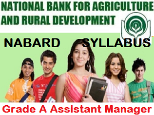 NABARD Assistant Manager Curriculum 2021